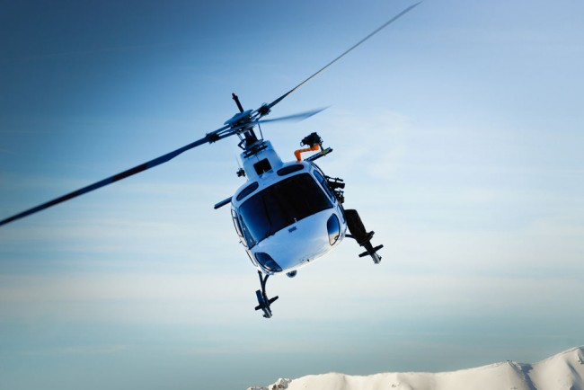 Hubschrauberflüge