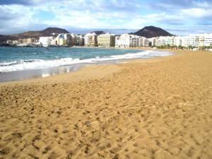 Las-Canteras-Strand in Las Palmas de Gran Canaria