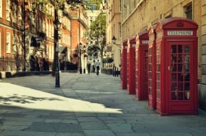 Telefonzellen in London