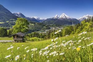 Zelten am See in Österreich